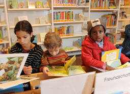 Children and young people up to their 20th birthday receive free library subscriptions.